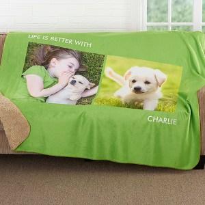 Photo Blanket for Kids