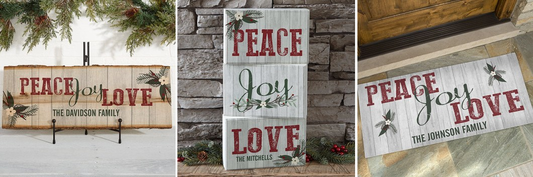Rustic Wood Holiday Decor