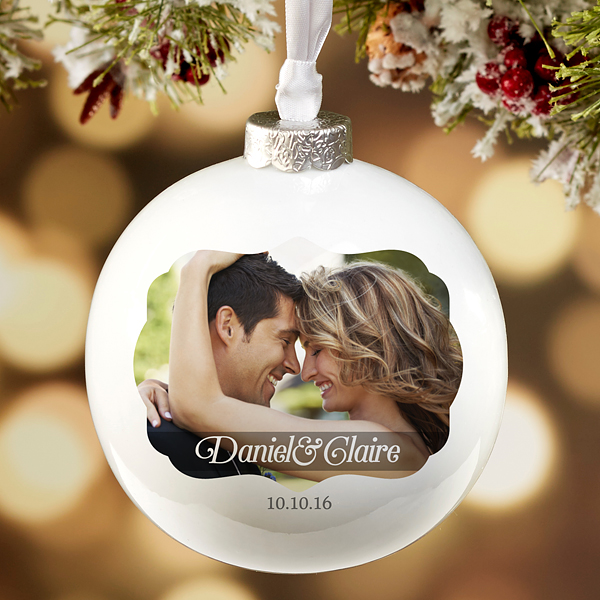 Wedding Photo Ornament