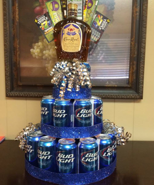 21st birthday booze cake ... & 10 Fun Ideas For 21st Birthday Gifts