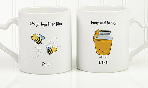 Bees & Honey Mug Set
