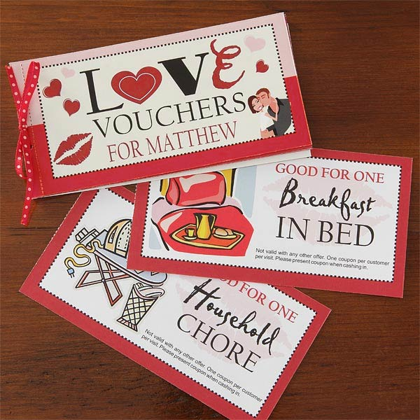 Cute love coupons for him