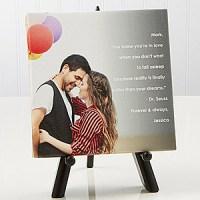 Photo Tabletop Canvas Print