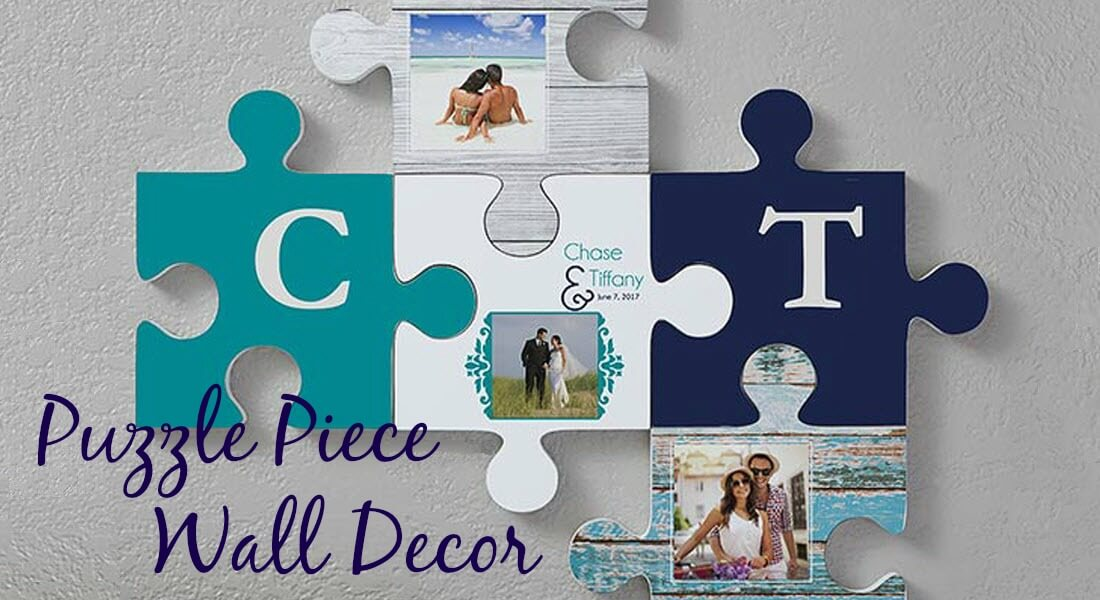 Puzzle Piece Wall Decor