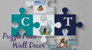 Puzzle Piece Wall Decor