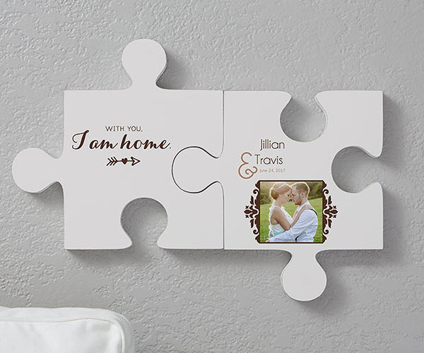 Engagement Puzzle Piece Wall Decor