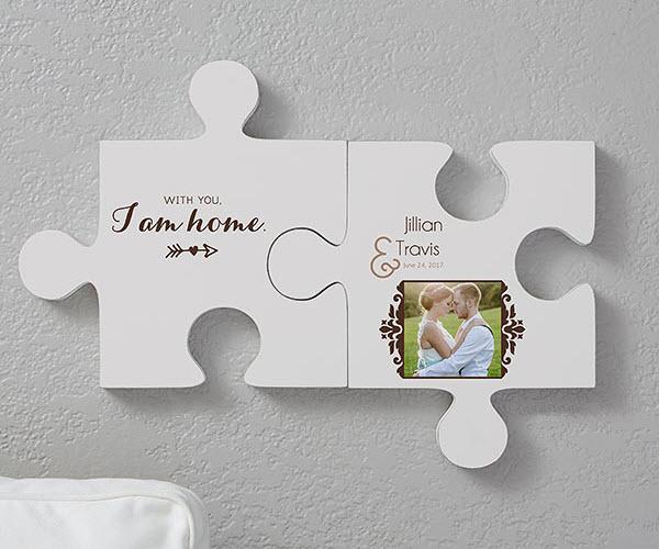 Engagement Puzzle Piece Wall Decor