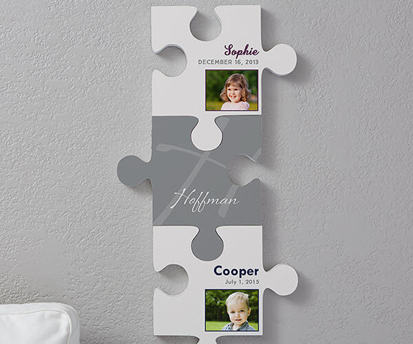 Puzzle Piece Decor - Family