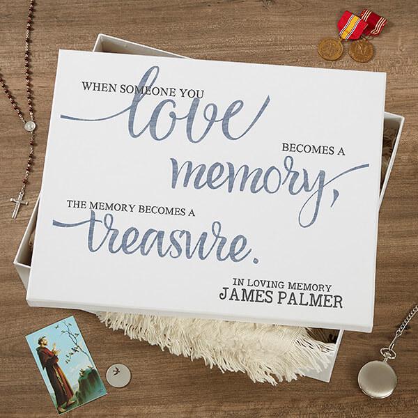 Memorial Memory Box