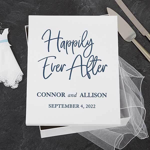Wedding Memory Box Ideas