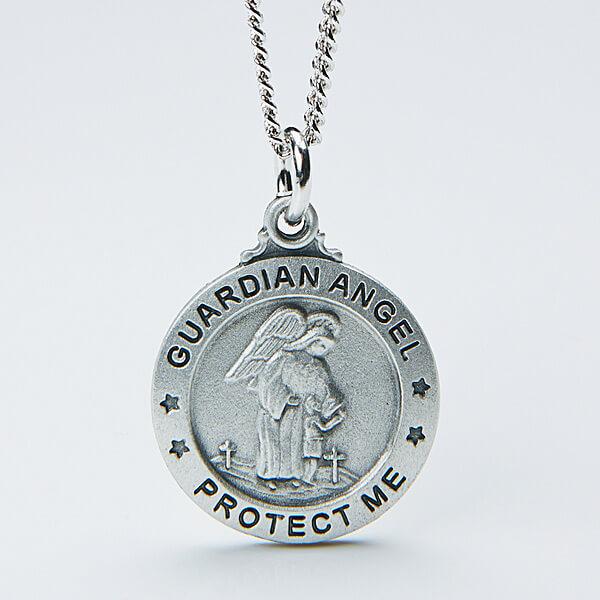Engraved Angel Pendant