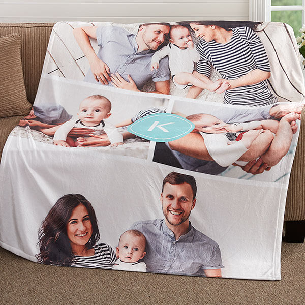 Mother's Day Photo Blanket
