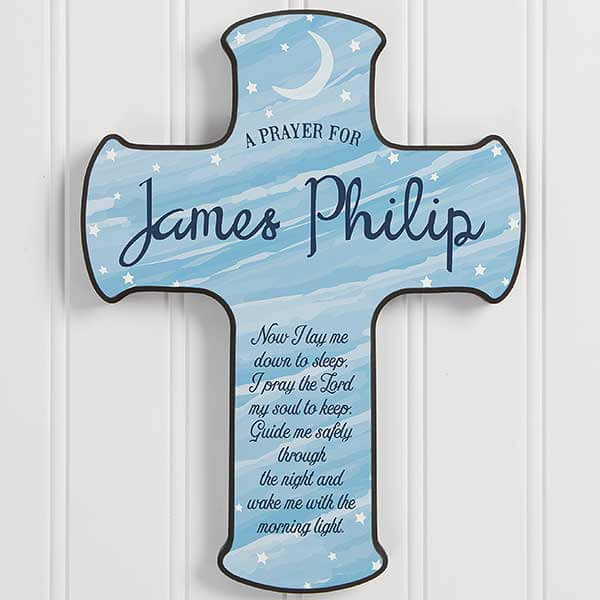 Personalized Prayer Cross