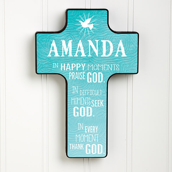 Personalized Wall Cross