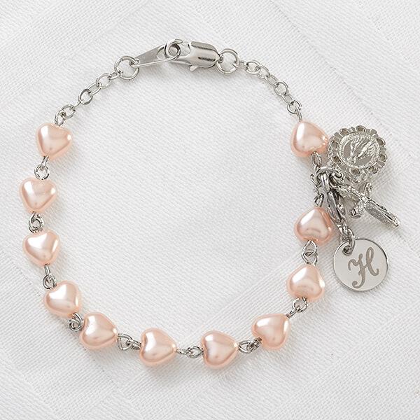 Personalized Rosary Bracelet