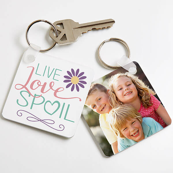 Custom Photo Key Chain for Mom