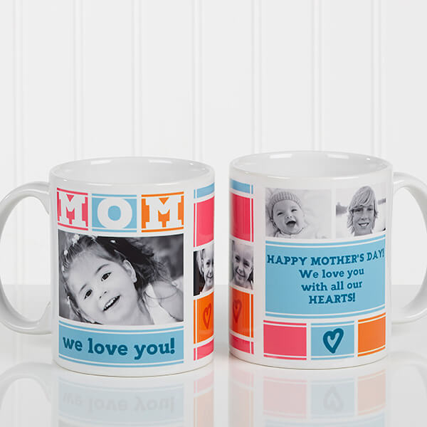 Custom Photo Coffee Mug for Mom