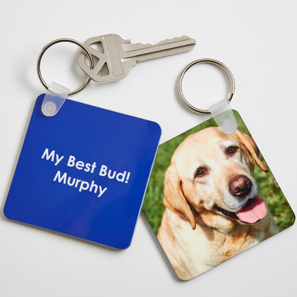 Personalized Pet Photo Key Ring