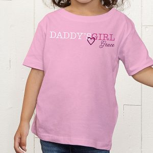 Daddy's Girl & Daddy Custom T-Shirts