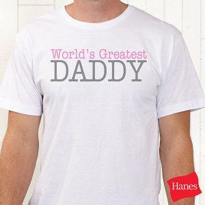 Daddy & Daddy's Girl Custom T-Shirts