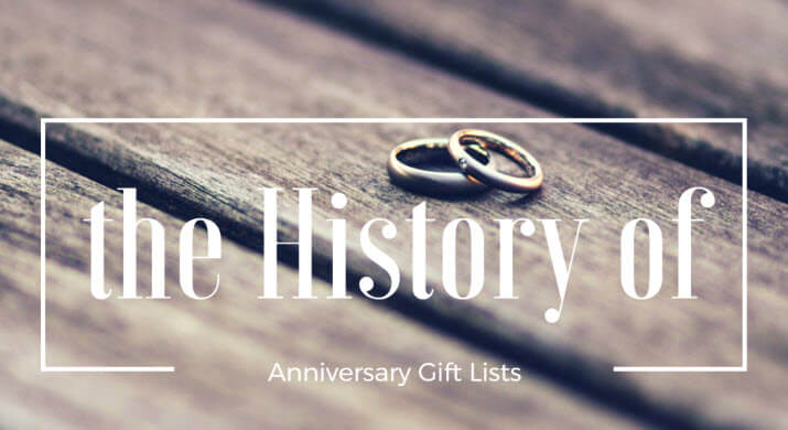 27 Jun The History Of Traditional u0026 Modern Anniversary Gifts By Year & History Of Traditional And Modern Anniversary Gifts By Year