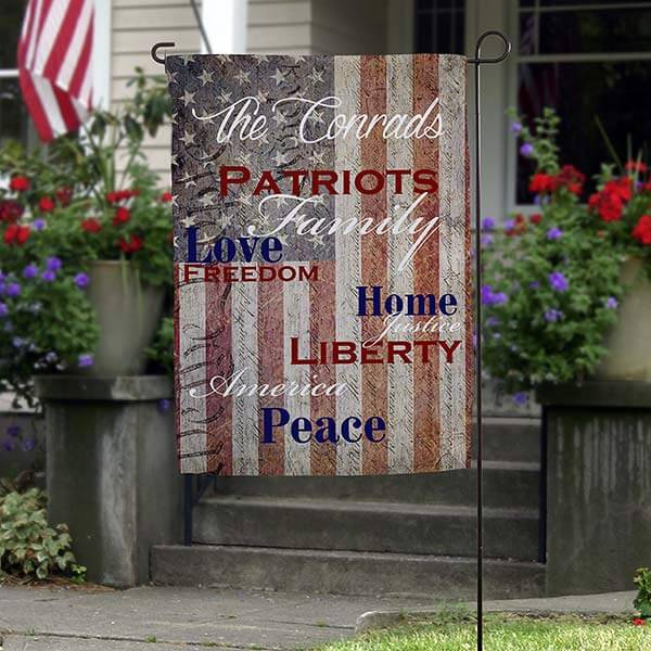 4th of July Gifts - Garden Flag