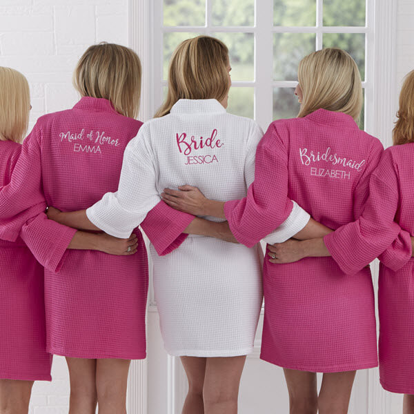 Personalized Bridesmaid Robes