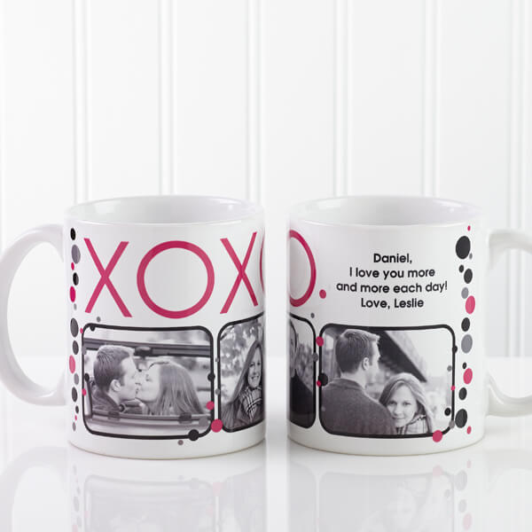 Romantic Boyfriend Photo Coffee Mug