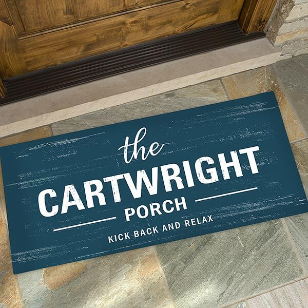 Farmhouse Family Personalized Doormat