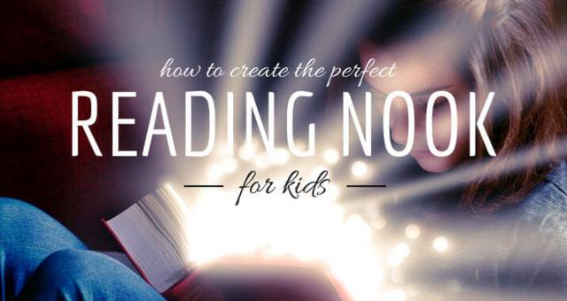 Create a Reading Nook For Kids
