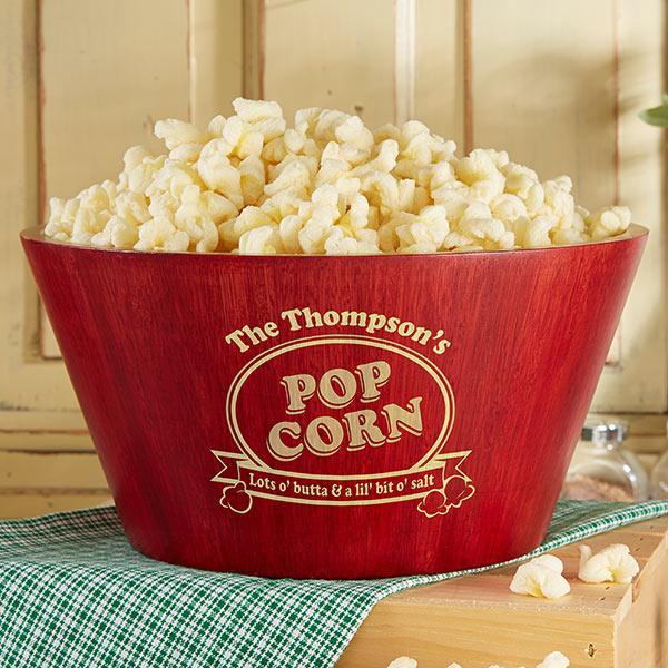 Real Estate Closing Gifts - Popcorn Bowl Set