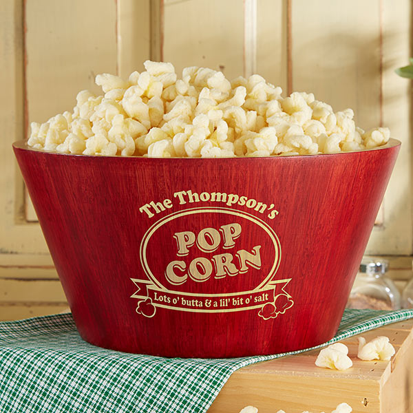Real Estate Closing Gifts - Popcorn Bowl Set