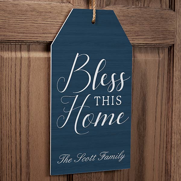 Real Estate Closing Gifts - Wooden Door Tag