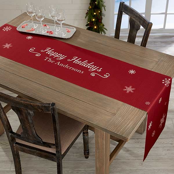 Real Estate Closing Gifts - Christmas Table Runner