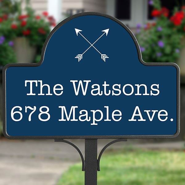 Real Estate Closing Gifts - Address Yard Stake