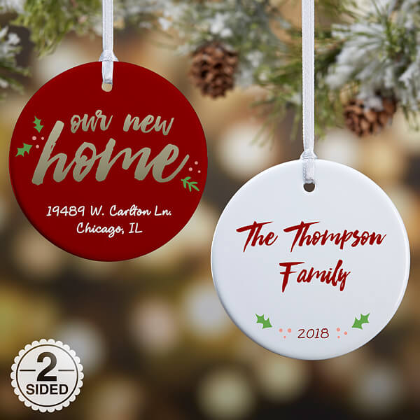 Real Estate Closing Gifts - Christmas Ornament