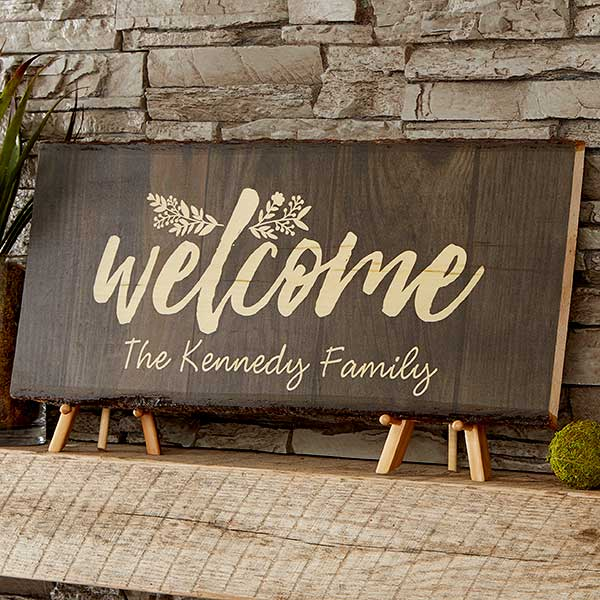 Real Estate Closing Gifts - Welcome Wooden Sign