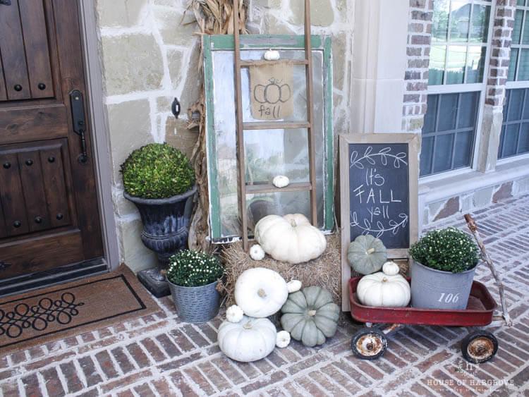 Vintage Fall Farmhouse Decor Ideas