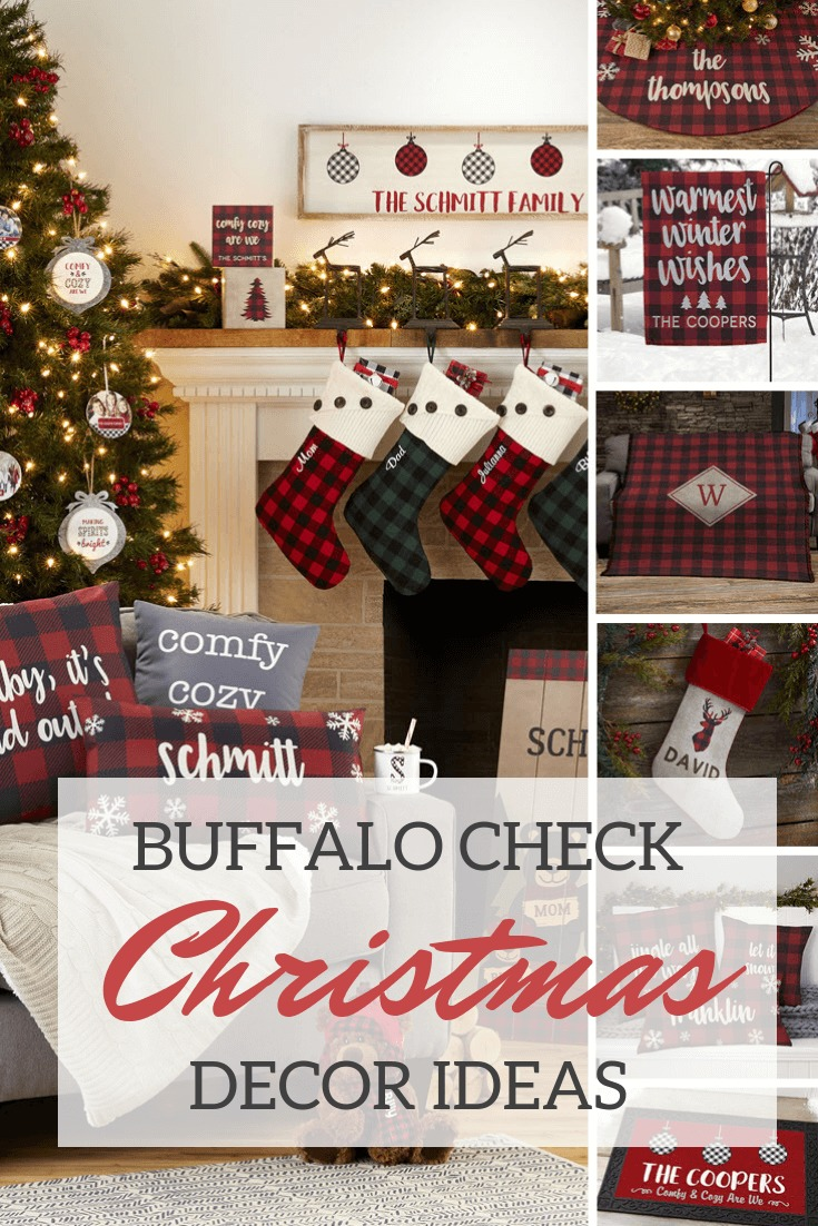 Buffalo Check Christmas Decor Ideas