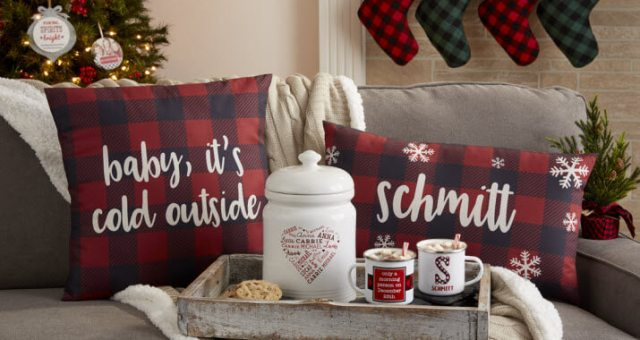 Buffalo Check Plaid Holiday Decor