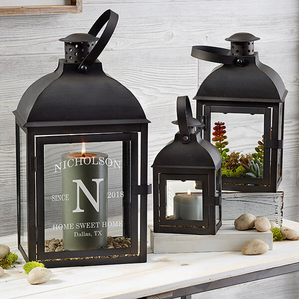New Home Candle Lantern Decoration