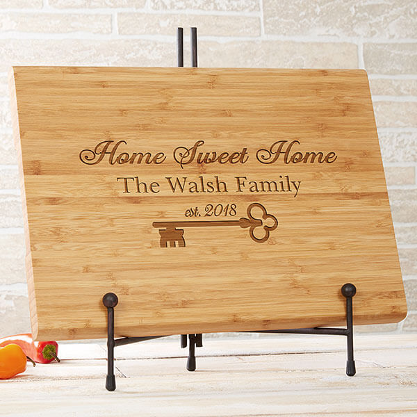 New Home Engraved Cutting Board