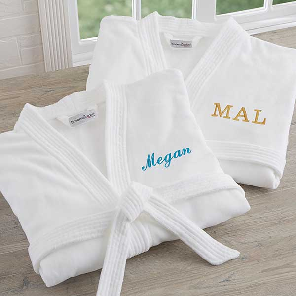 Embroidered Bridesmaid Robes