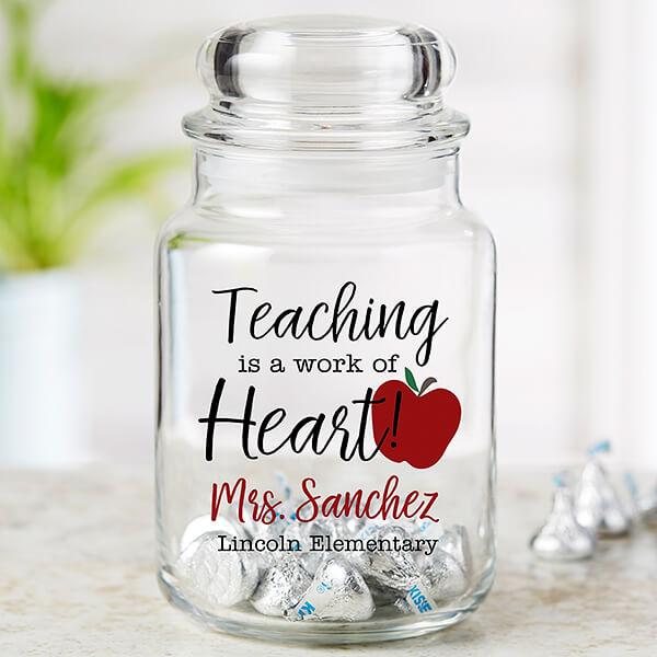 Teacher Candy Jar