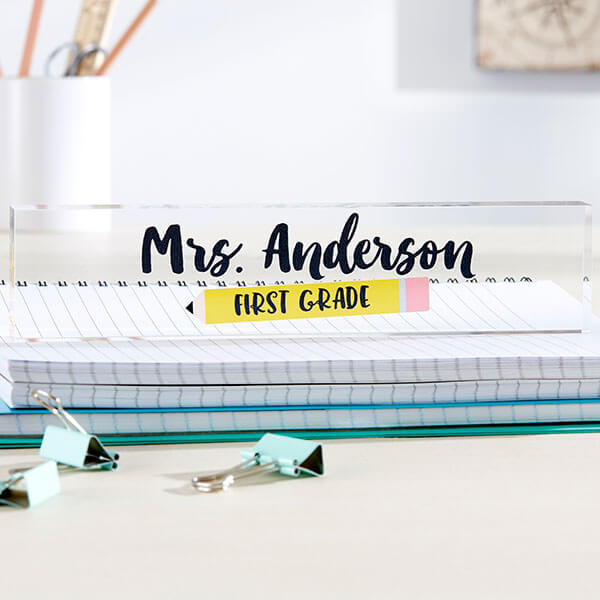 Teacher Name Plate