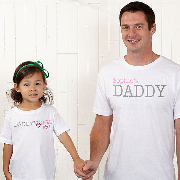 Daddy Daughter Matching Shirts