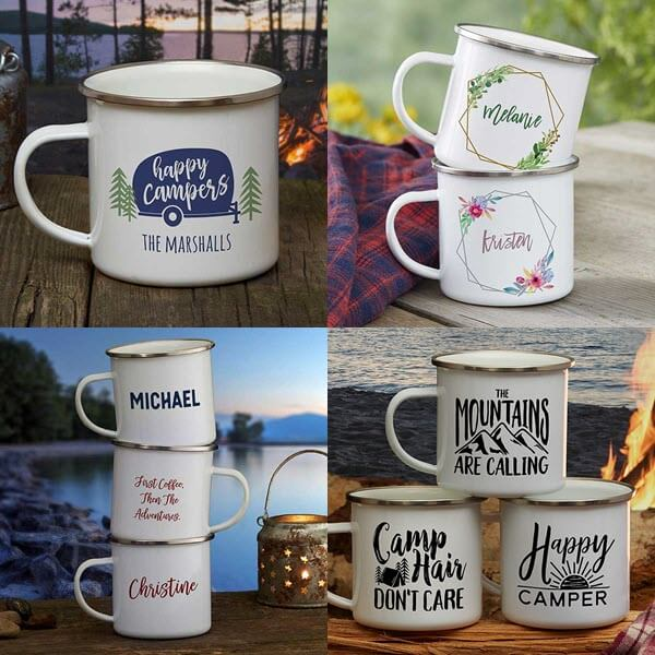 Personalized Camping Mugs