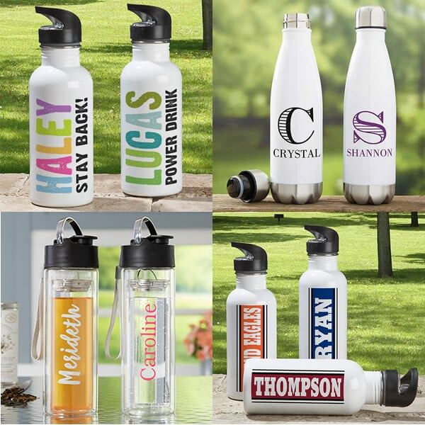 Personalized Water Bottles for Camping