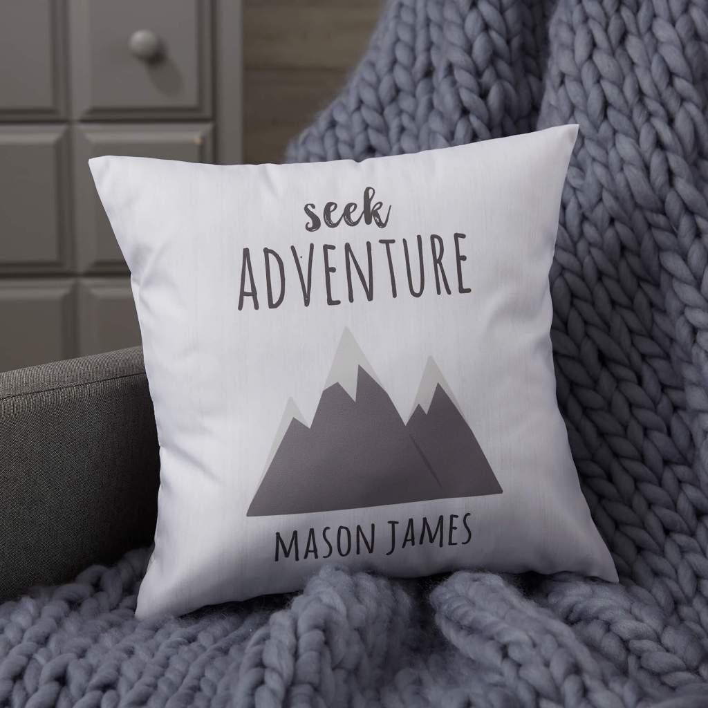 Adventure & Travel Nursery Decor - Throw Pillows