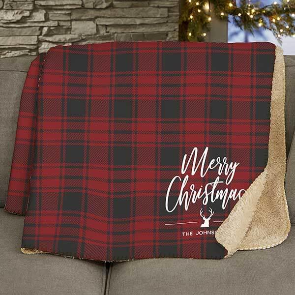 Christmas Plaid Blankets